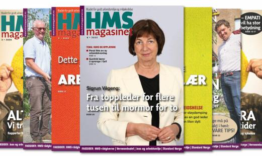 HMS-magasinet 6/2020 er ute nå
