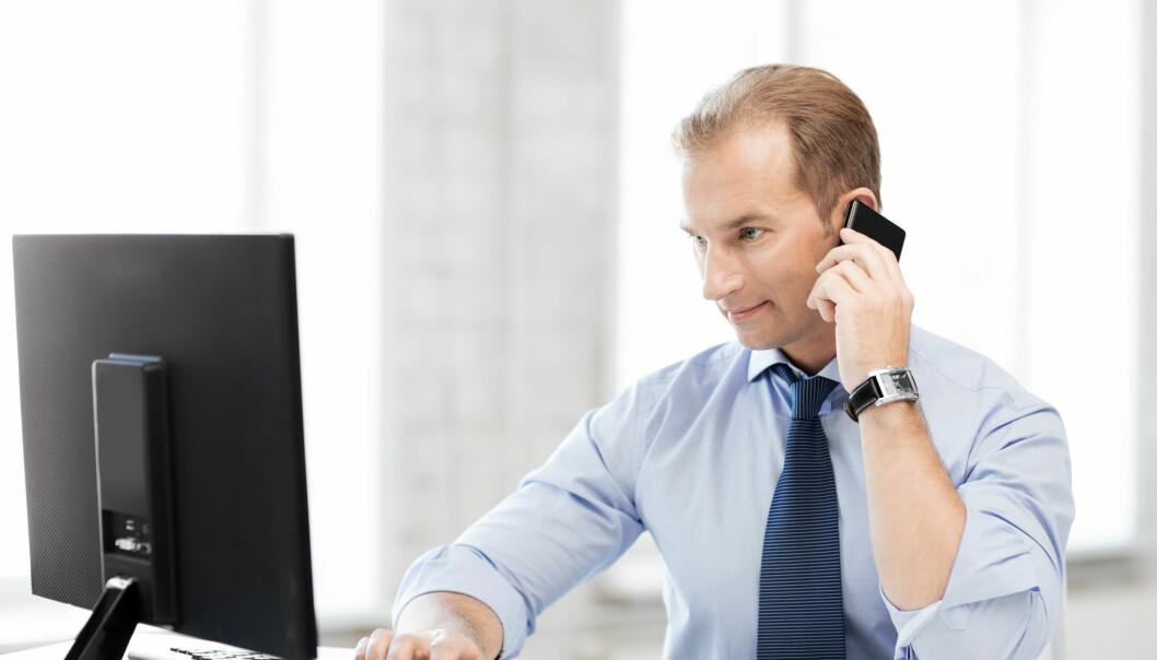 Jurister jobber best på en skjermet arbeidsplass.