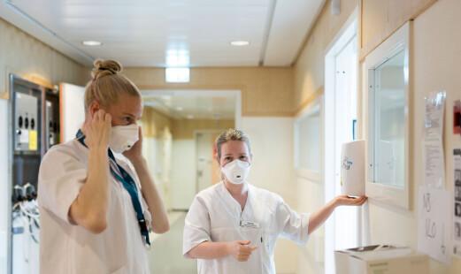 Stor leveranse av åndedrettsvern