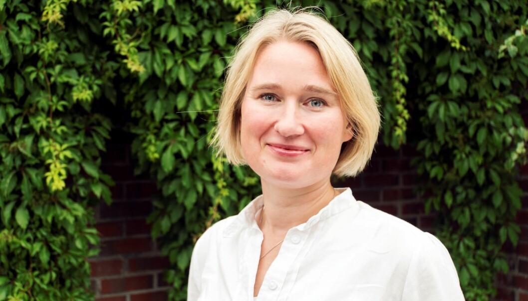 Ylva Erbach er ansatt som daglig leder i Norsk Metallgjenvinning.