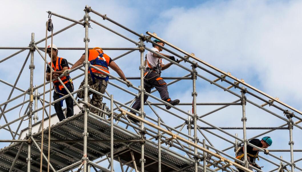 Bygg og anlegg er næringen med flest arbeidsskadedødsfall pr. år
