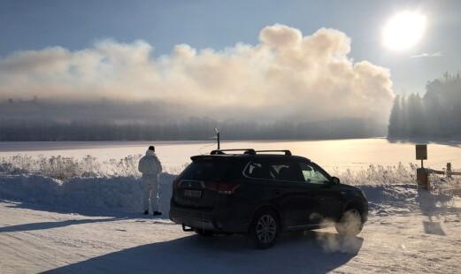 Brannrammede svensker fikk norsk bistand