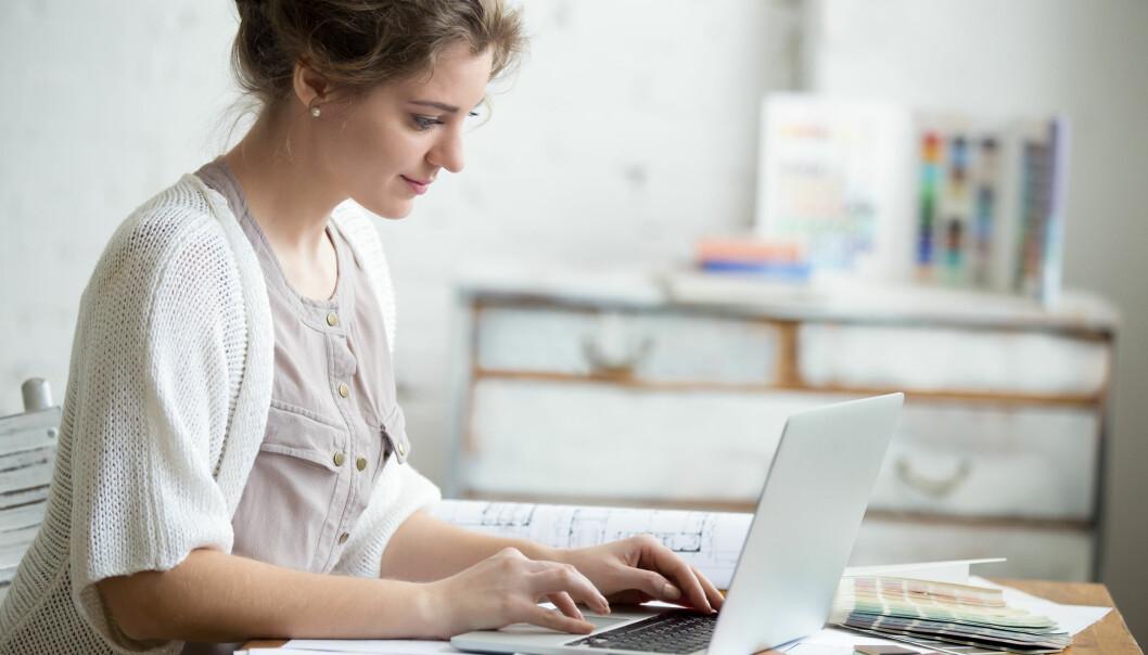 Mange ser på hjemmekontoret som en midlertidig arbeidsplass.