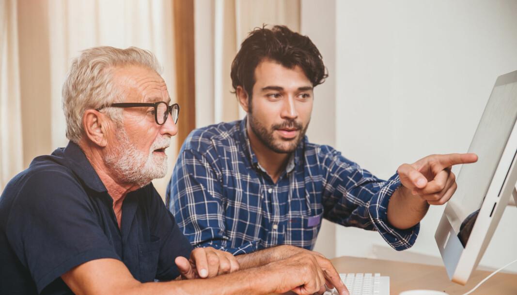 Interessante arbeidsoppgaver og gode kolleger holder seniorene i arbeid.