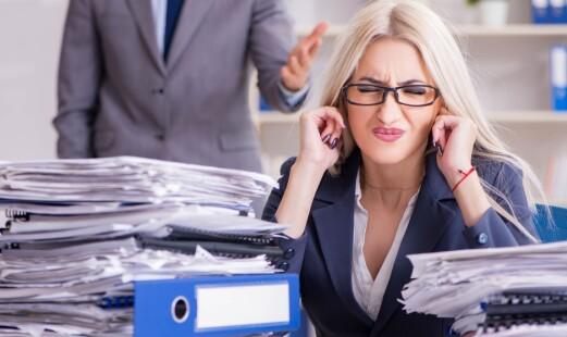 Mobbing på jobb kan gi søvnproblemer