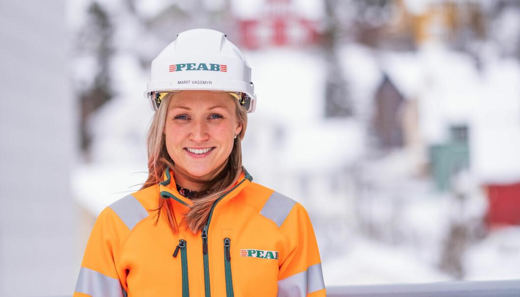 Marit Vassmyr er på plass som miljøsjef for Peab Bygg Norge.