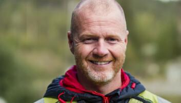 Redningsmann i Norsk Luftambulanse AS, Kjetil Leknes.