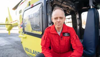 Stephen Sollid er sjeflege i Stiftelsen Norsk Luftambulanse .