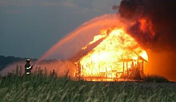 Mange bønder vet ikke om brannsikkerheten er god nok