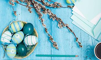 Arbeid, ferie og sykdom i påsken