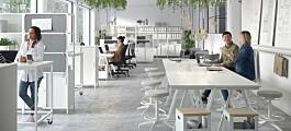 Satser på utleie av kontormøbler