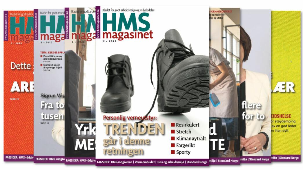 Bestill HMS-magasinet i dag!