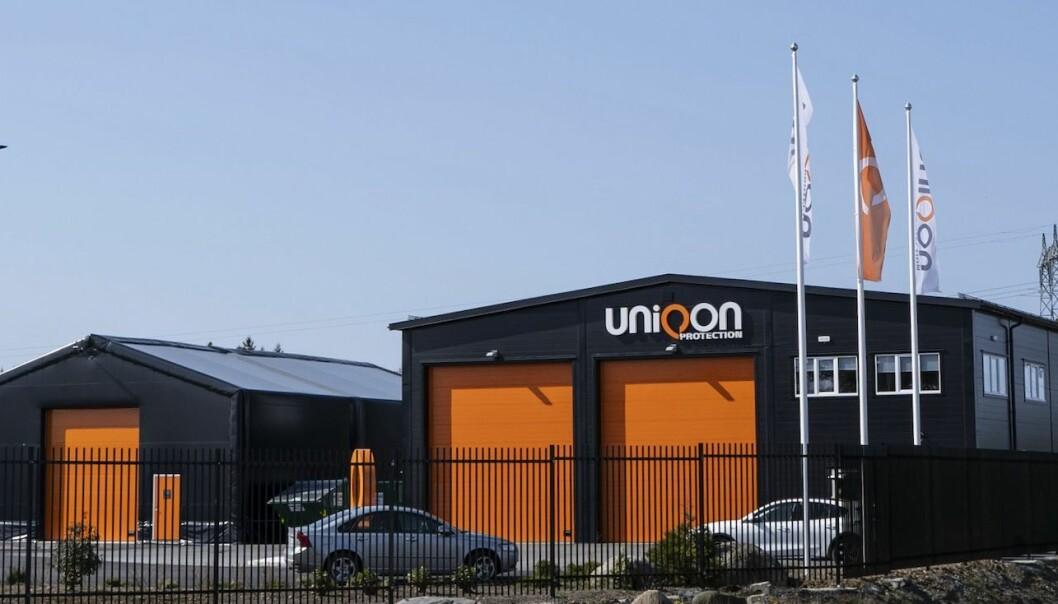 Uniqon Protection AS på Stord.