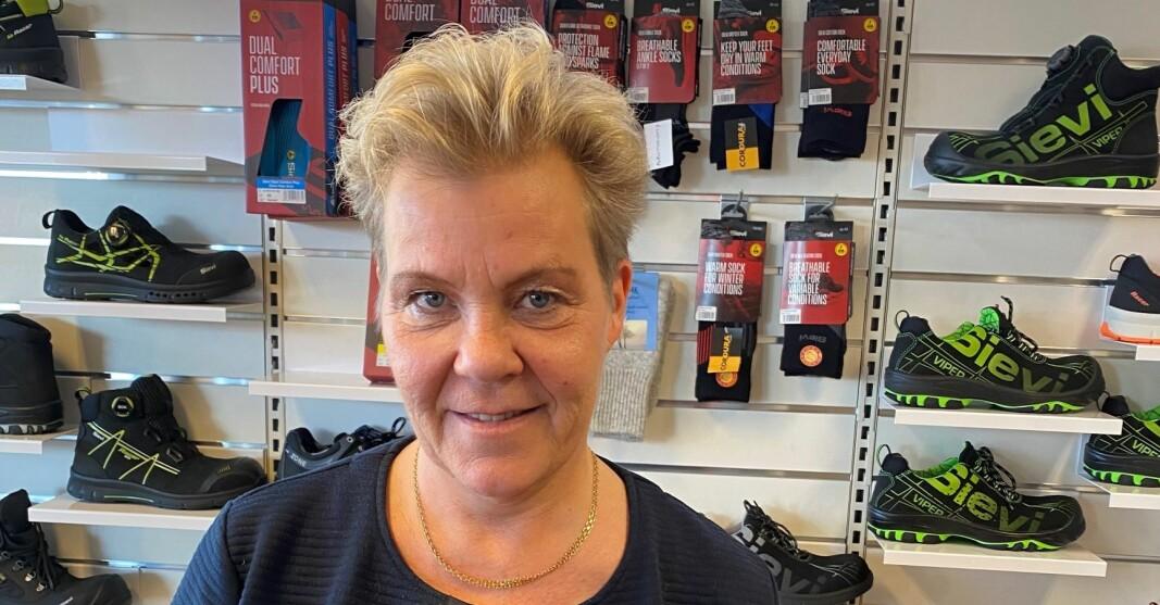 Produktsjef Helena Søderlund i Sievi Norge.