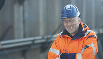 Peer Christian Anderssen er direktør for Helse og Sikkerhet i Skanska Norge.