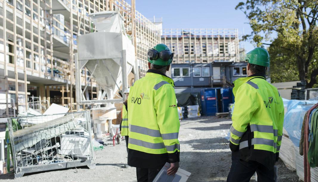 RVO-ene for bygg og anlegg har besøkt 5800 arbeidsplasser i 2020.