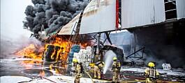 Avfallsanlegg mangler oversikt over brannrisiko