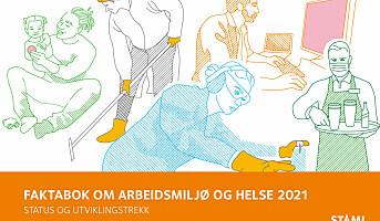 Ny faktabok om arbeidsmiljø og helse