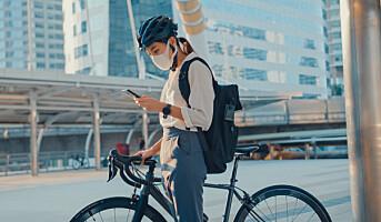 Det ligger helsegevinst i å sykle til jobben – også på sterkt trafikkerte steder