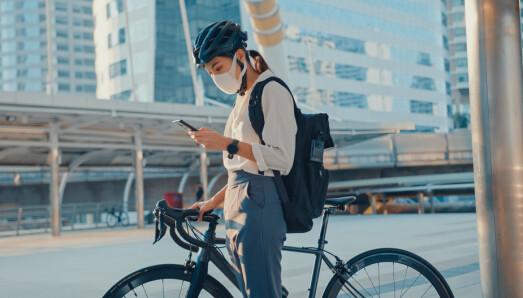 Forskning: Sykling til jobben gir helsegevinst