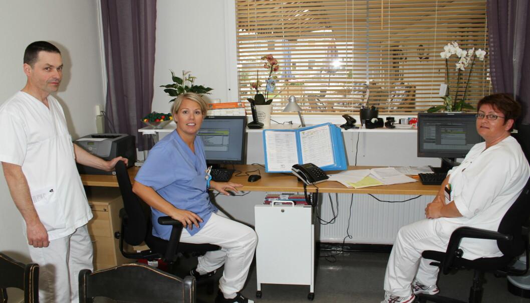 Pleie-, omsorgs- og helsearbeidere føler seg trygge på at de beholder jobben i årene fremover.