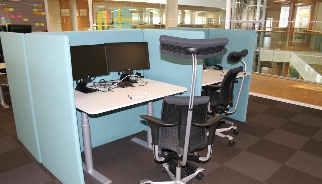 Kontorlokaler blir stående tomme når ansatte heller vil jobbe på hjemmekontor.