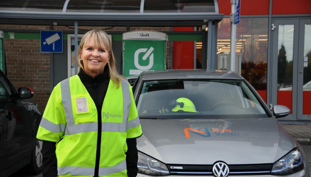 Administrerende direktør Anette Aanesland mener at Nye Veier bør legge til rette for at man kan teste ut nye, klimavennlige løsninger i vei- og baneprosjektene.
