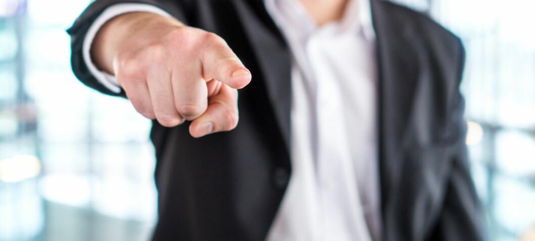 En elendig sjef kan tredoble risikoen for depresjon