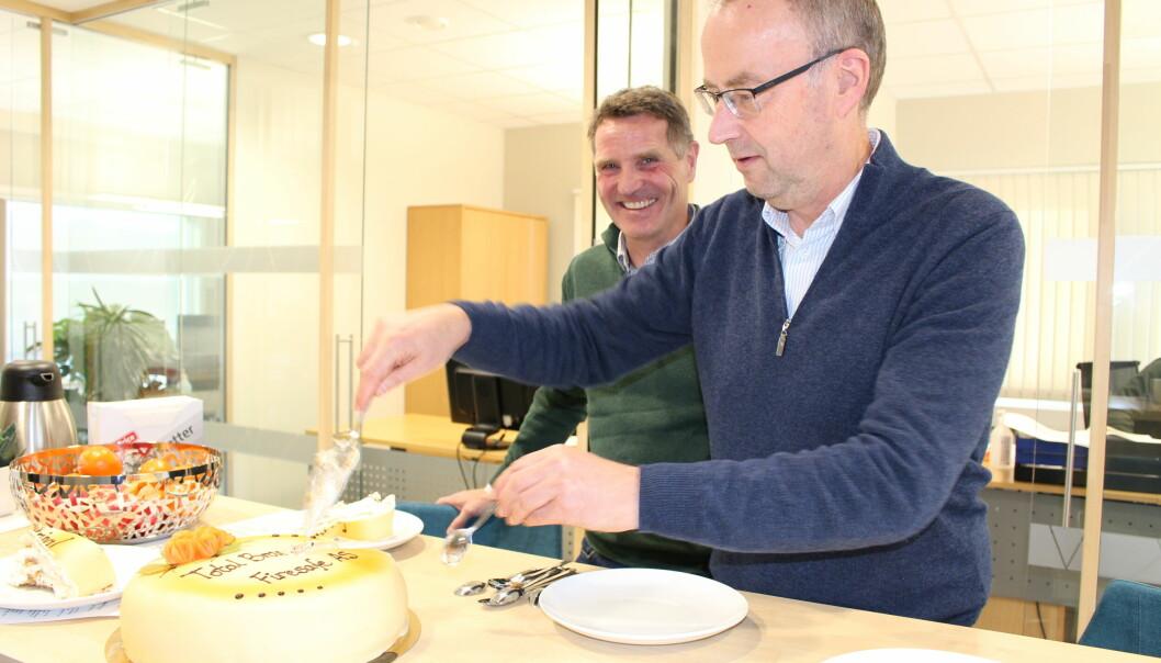 F. v. Bengt Slettli og Morten Ameln.